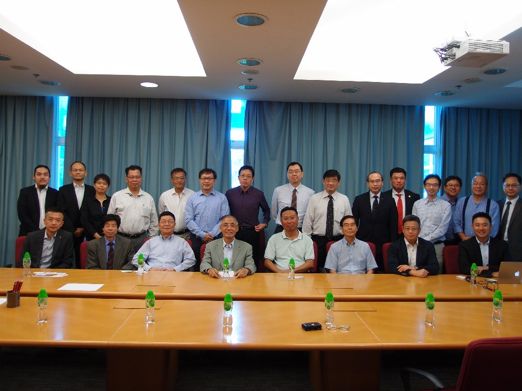 Visit to the Faculty of Engineering of The Chinese University of Hong Kong by the Federation of Hong Kong Industries