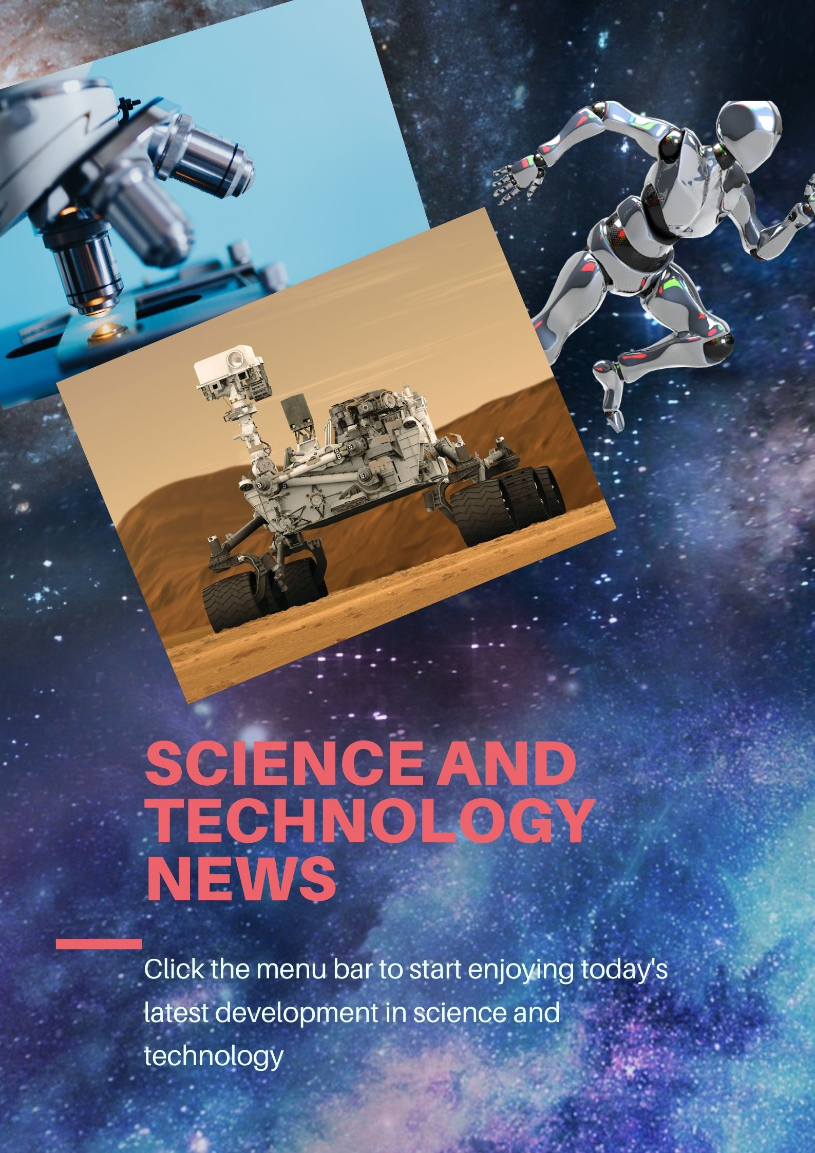 """Science and Technology News"""